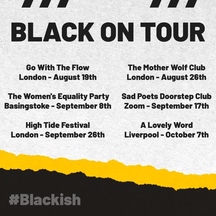 Black On Tour Dates